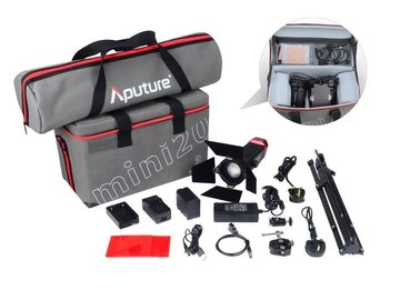 Rent: Aputure LS-mini20 Light Storm Flight Kit (DDC) with 3x Stand