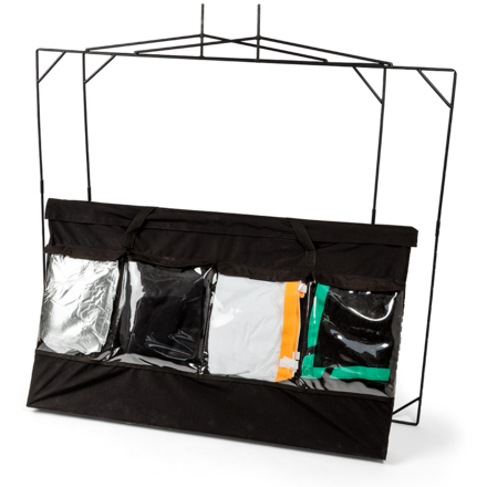 Matthews Road Flag Collapsible 4x4 Kit w/ C-Stands and Bags