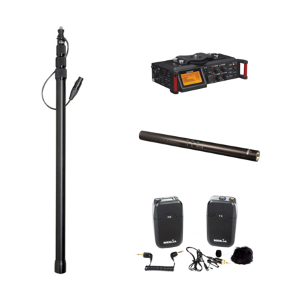 Indie Audio Package (Recorder, Shotgun, Boom, Wireless Lav)