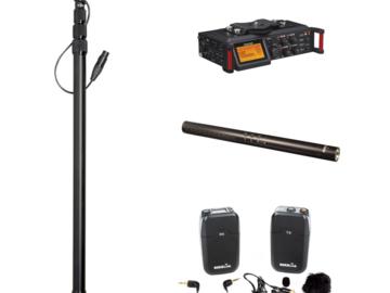 Rent: Indie Audio Package (Recorder, Shotgun, Boom, Wireless Lav)