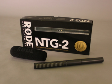 Rent: Rode NTG2 Condenser Shotgun Microphone