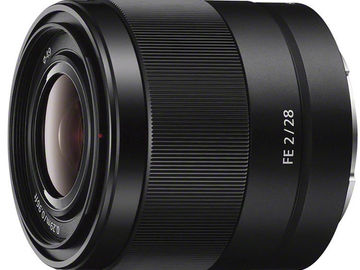 Rent: Sony FE 28mm f/2 Lens for a7rii, a7sii