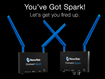 Rent: NewTek Connect Spark (1)