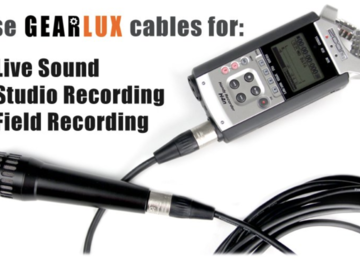Rent: Gearlux 25' Microphone XLR Cable