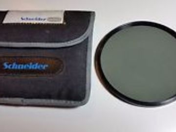 Rent: Schneider 138mm Mounted True-Pol Linear Polarizer Filter