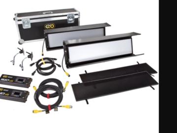 Rent: Kino Flo Gaffer 30 DMX 2-Light Shipping Case Kit