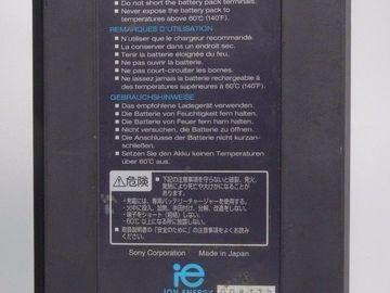Sony V-Mout Battery BP-L90A