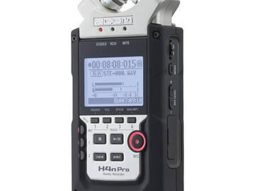 Rent: Zoom H4n Pro Recorder Rental Kit