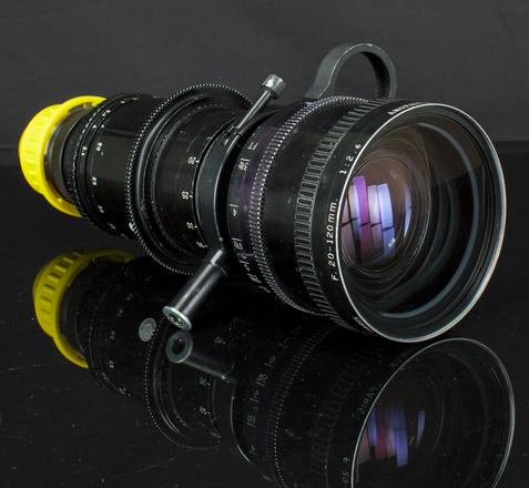 Angenieux 20-120 T2.8 PL mount Zoom