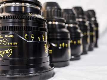 Rent: Cooke Mini s4/i Lens (Single Lens Rental)