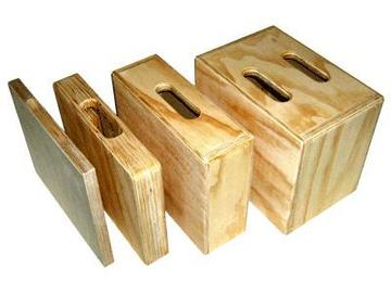 Rent: Mini apple boxes SET 3 of 4