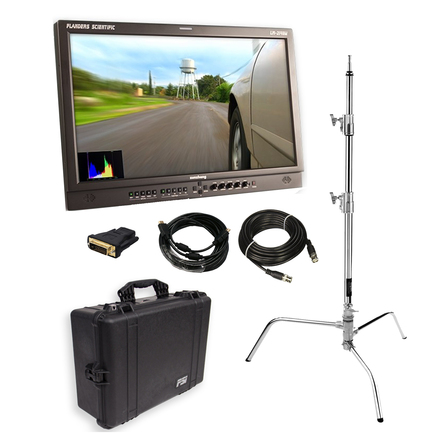 """Flanders 21.5"""" Client Monitor (w/ Stand, Cables)"""