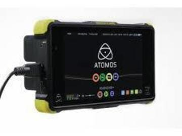 "Rent: Atomos Shogun FLAME 4K Recorder and 7"" Monitor w/ Extras"