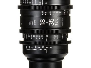 Rent: Sigma 18-35mm Cinema Zoom T2