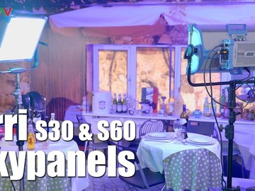Rent: Arri Sky Panel 2 light kit s30 & s60 with chimeras