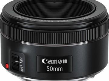 Rent: Canon - EF 50mm f/1.8 STM Standard Lens - Black
