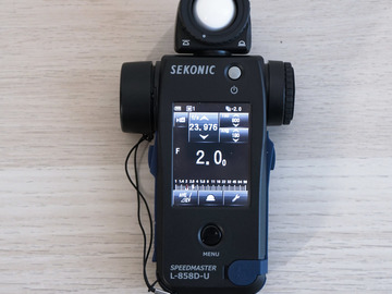 Rent: Sekonic Speedmaster L-858D-U Light Meter