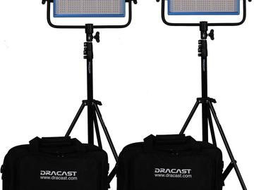 Rent: Dracast LED500 Bicolor 2-light kit