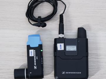 Rent: Sennheiser AVX Lavalier Wireless  (MKE2 Lavalier)