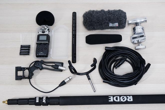 Boom Sound Recording Kit (Zoom H5, Sennheiser ME66/K6, Rode