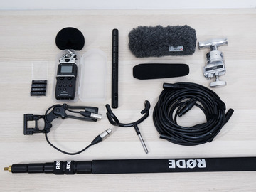 Rent: Boom Sound Recording Kit (Zoom H5, Sennheiser ME66/K6, Rode