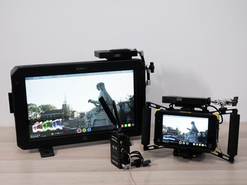Rent: Wireless Video HDR Kit (Cinegear Ghost-Eye 2x receivers, Ato
