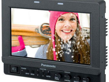 "Panasonic BT-LH80 8"" HD Widescreen LCD Monitor with Waveform"