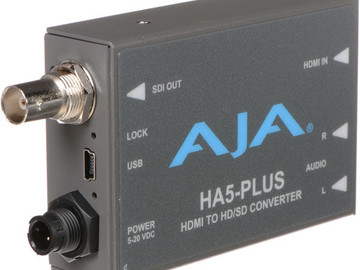 Rent: AJA Ha5 HDMI to HD-SDI Converter