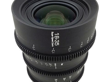GL Optics 18-35mm T1.8 PL-mount Cine zoom