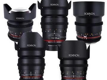 Rent: Rokinon Lenses