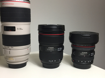 Rent: Canon Lens Set