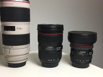 Rent: Canon Lens Set
