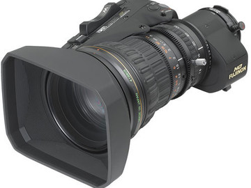 "Rent: Fujinon XA17x7.6 ENG HD Zoom Lens w/Double for 2/3"" Cameras"
