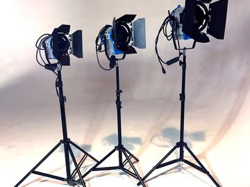 Rent: ARRI Tungsten Light Kit