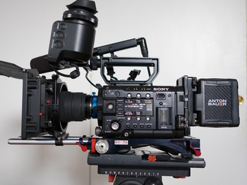 Rent: Sony F5 Kit - 4k Update, Package