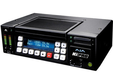 Rent: AJA Ki Pro Portable Pro Res File Recorder w/2)250Gb Drive