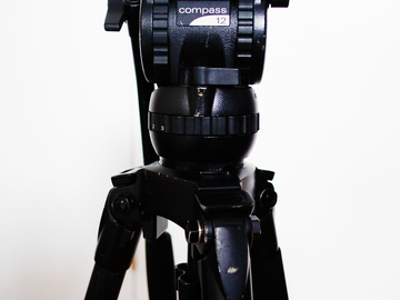 Rent: Miller Compass 12 Fluid Head // Solo CF 2 stage DSLR Tripod