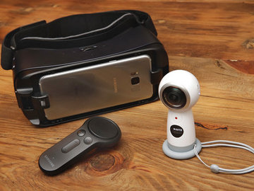 Rent: Samsung Gear VR/360 Kit