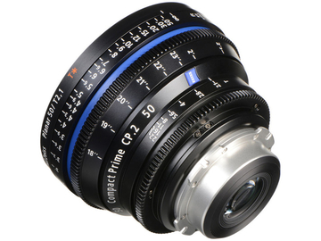 Rent: Zeiss Compact Prime CP.2 50mm T1.5 super speed EF