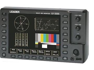 Rent: Leader LV-5330 HD Waveform/Vectorscope/Multi-Monitor