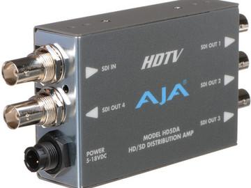 Rent: AJA HD-SDI 1X4 DA