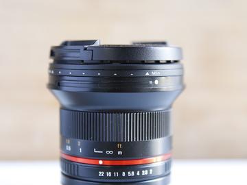 Rent: Rokinon 12mm F/2.0 Sony E Mount