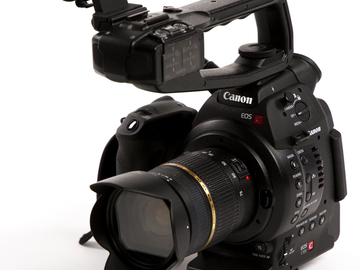 Rent: Canon C100 + Zoom Lens + Atomos Ninja 2