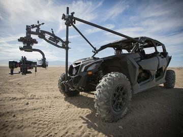 Rent: Cinema Rover Camera Car Full Crew
