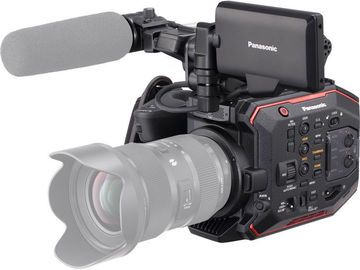 Rent: Panasonic AU-EVA1 Compact 5.7K Super 35mm Cinema Camera