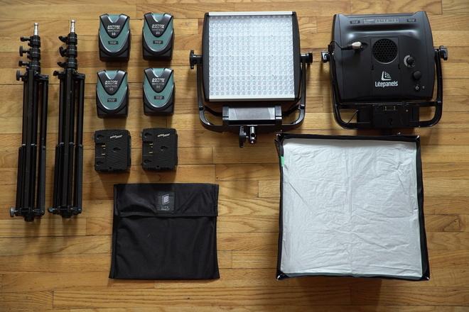 Complete Dual Litepanel Astra Bi-Color Kit