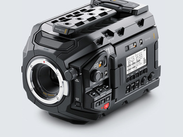 Rent: Blackmagic Ursa Mini Pro (Batteries + Cards)