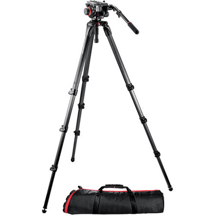 Manfrotto 504HD and 536K Tripod with Video Head