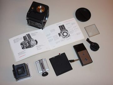 Rent: Hasselblad 500C/M Body Kit w/ Lenses & Slide Film