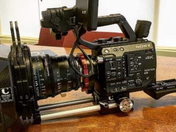 Rent: FS5 Super 35 Camera System (Body Only) w/PL to E-MOUNT